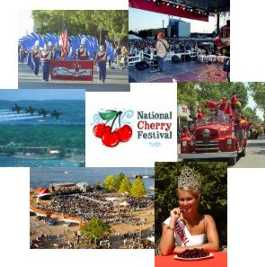 Scenes from the National Cherry Festival of Traverse City, Michigan
