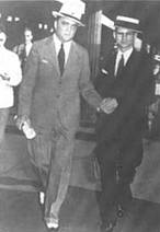 J Edgar Hoover and Melvin Purvis